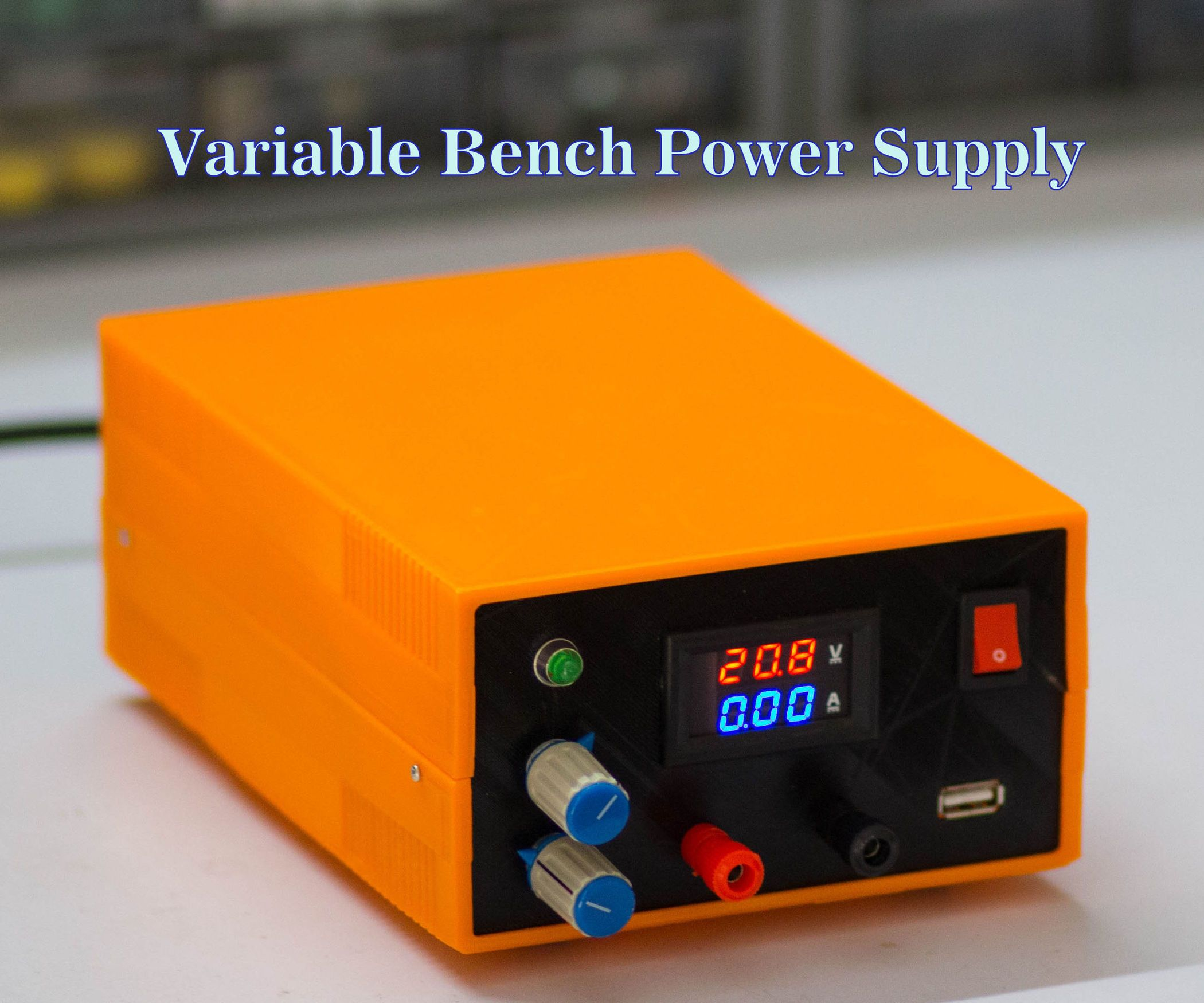 How To Make A Bench Power Supply Electronics Projects Diy Power Supply Diy Electronics
