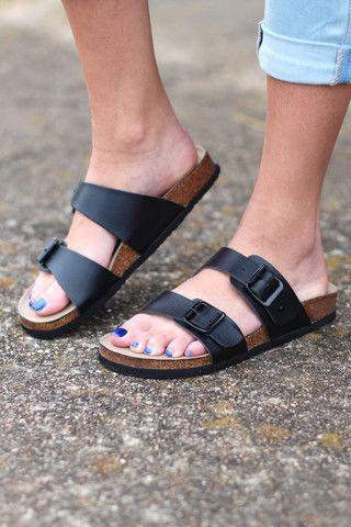 8de891d3e Madden Girl  Brando Slide On Sandals  Black