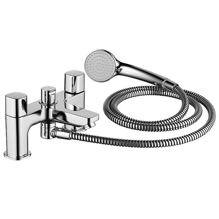 Ideal Standard Tempo Chrome Finish Bath Shower Mixer Tap Diy At B Q Shower Mixer Taps Bath Shower Mixer Bath Shower Mixer Taps