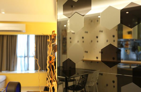 Apartment Design, Interior Designer Salary Yellow Walls And Glass Door And  Powering Air Conditioner Modern Apartment 102: Interior Designer ... |  Pinterest