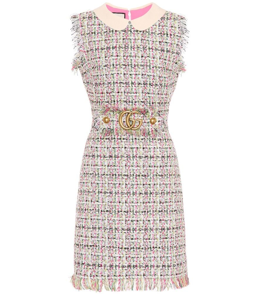 Gucci - Embellished tweed dress - Quintessentially Gucci, this A