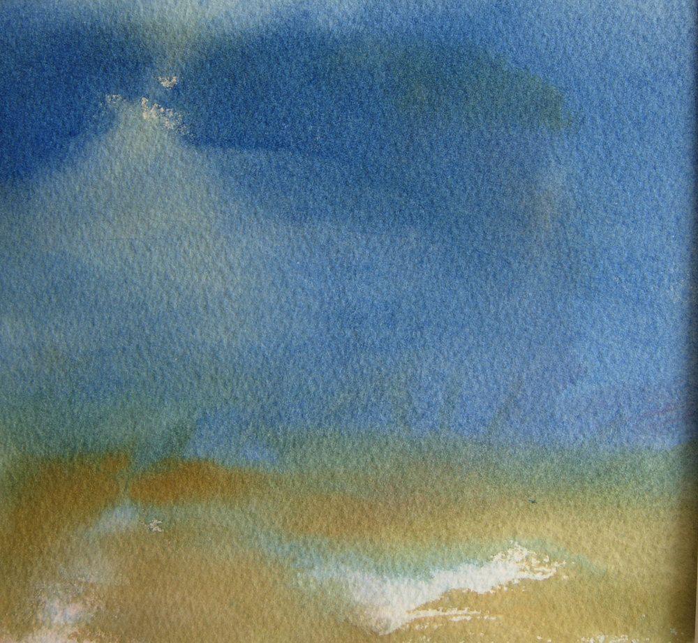 Evening Starlight Serenity Watercolor Painting on by MarilynKJonas, $42.00