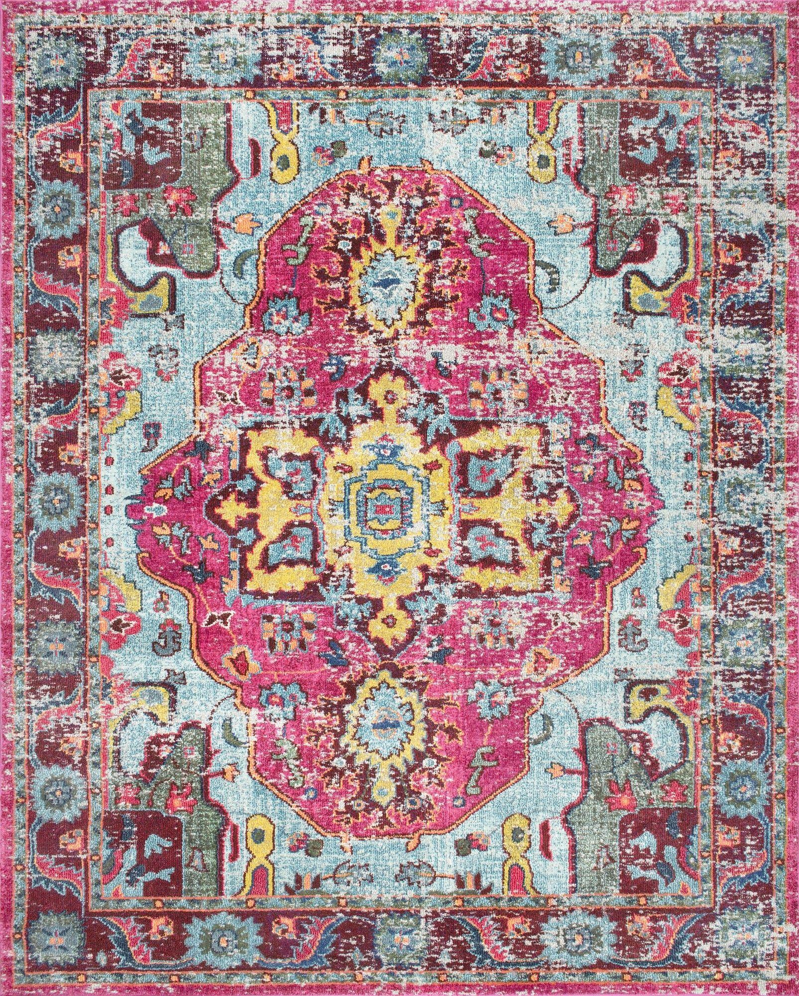 nuloom corbett pink area rug u0026 reviews wayfair