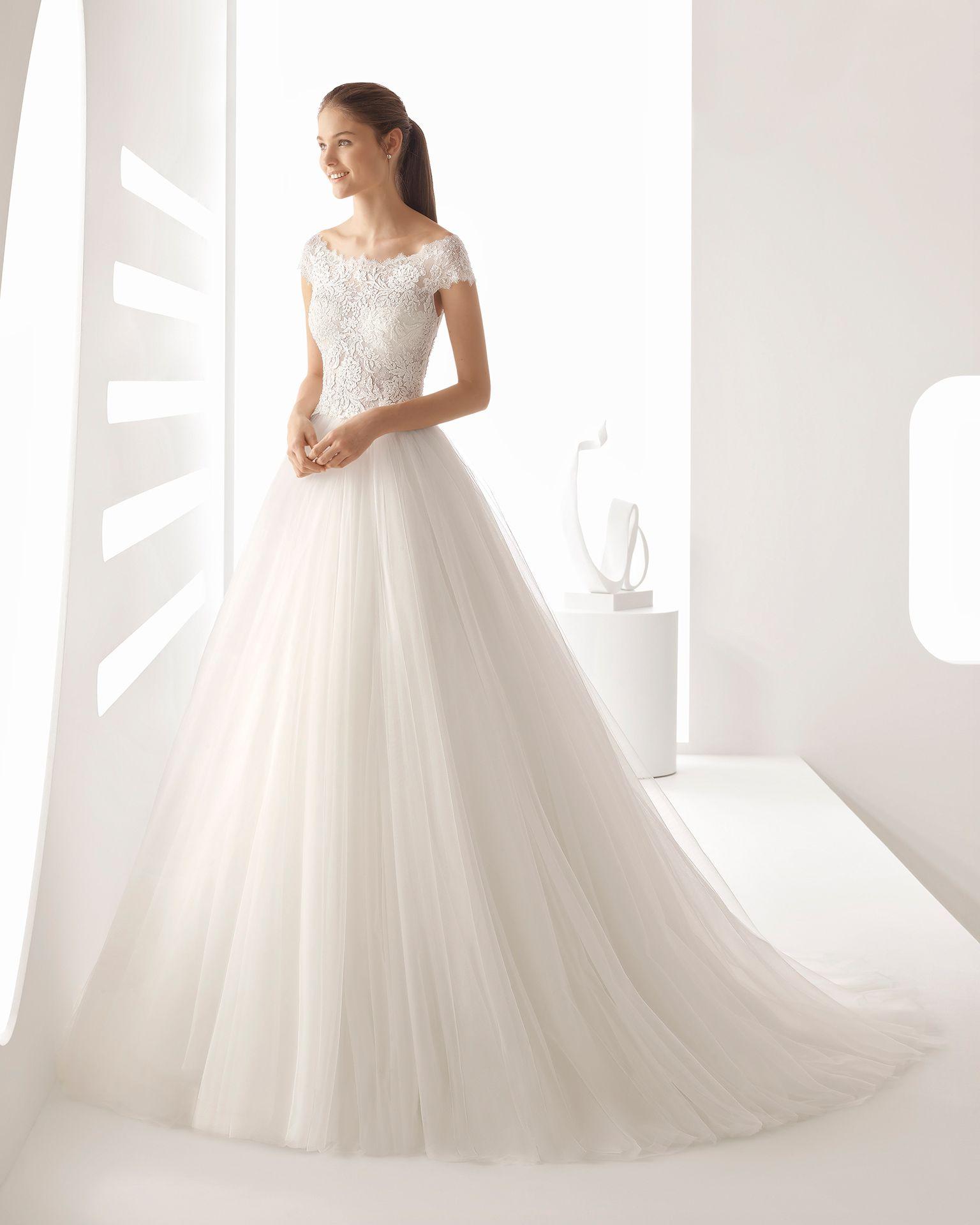 Alejandra mariée collection princess style beaded lace