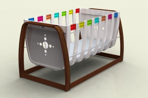Baby Cot Pod Modern Crib Unique And Fun Modern Baby Furniture