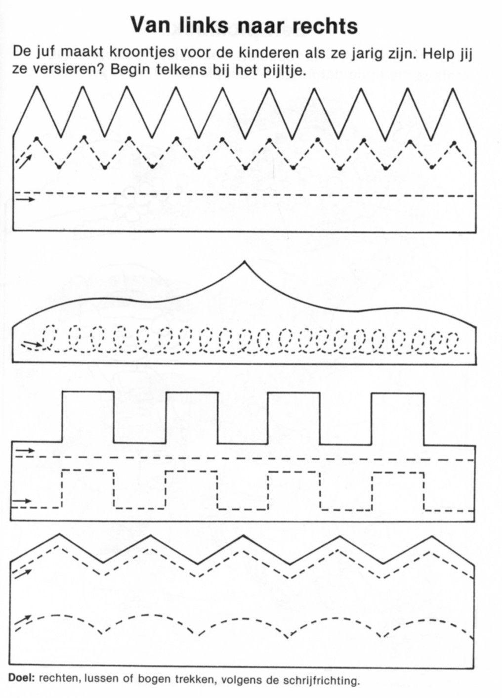 Kronen | kindergarten | Pinterest | Kronen, Schwungübungen und Schrift