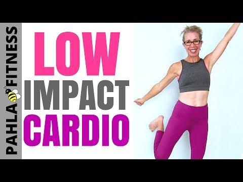 pin on low impact cardio workout