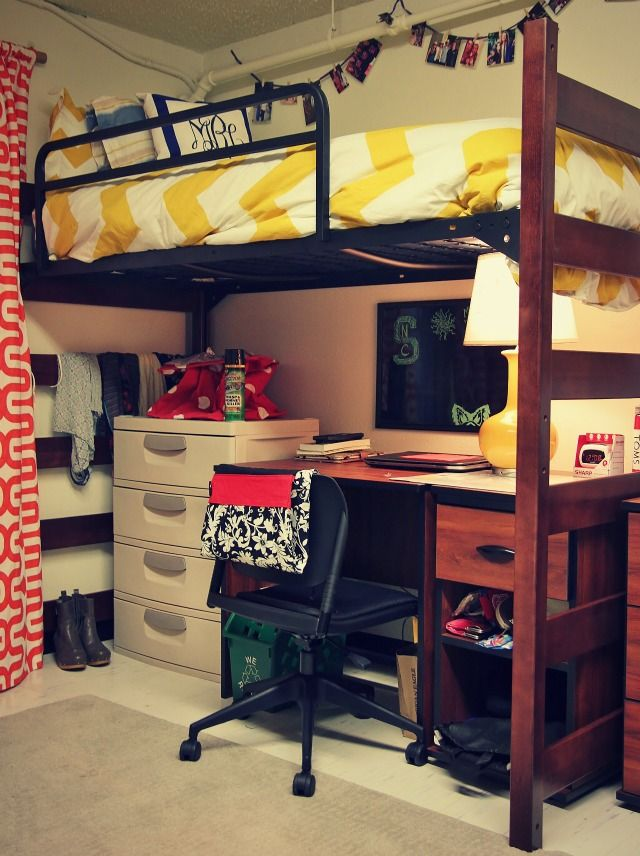 Decorating Ideas > Small Touches Of Matching Color Really Pull The Room  ~ 045423_Matching Dorm Room Ideas
