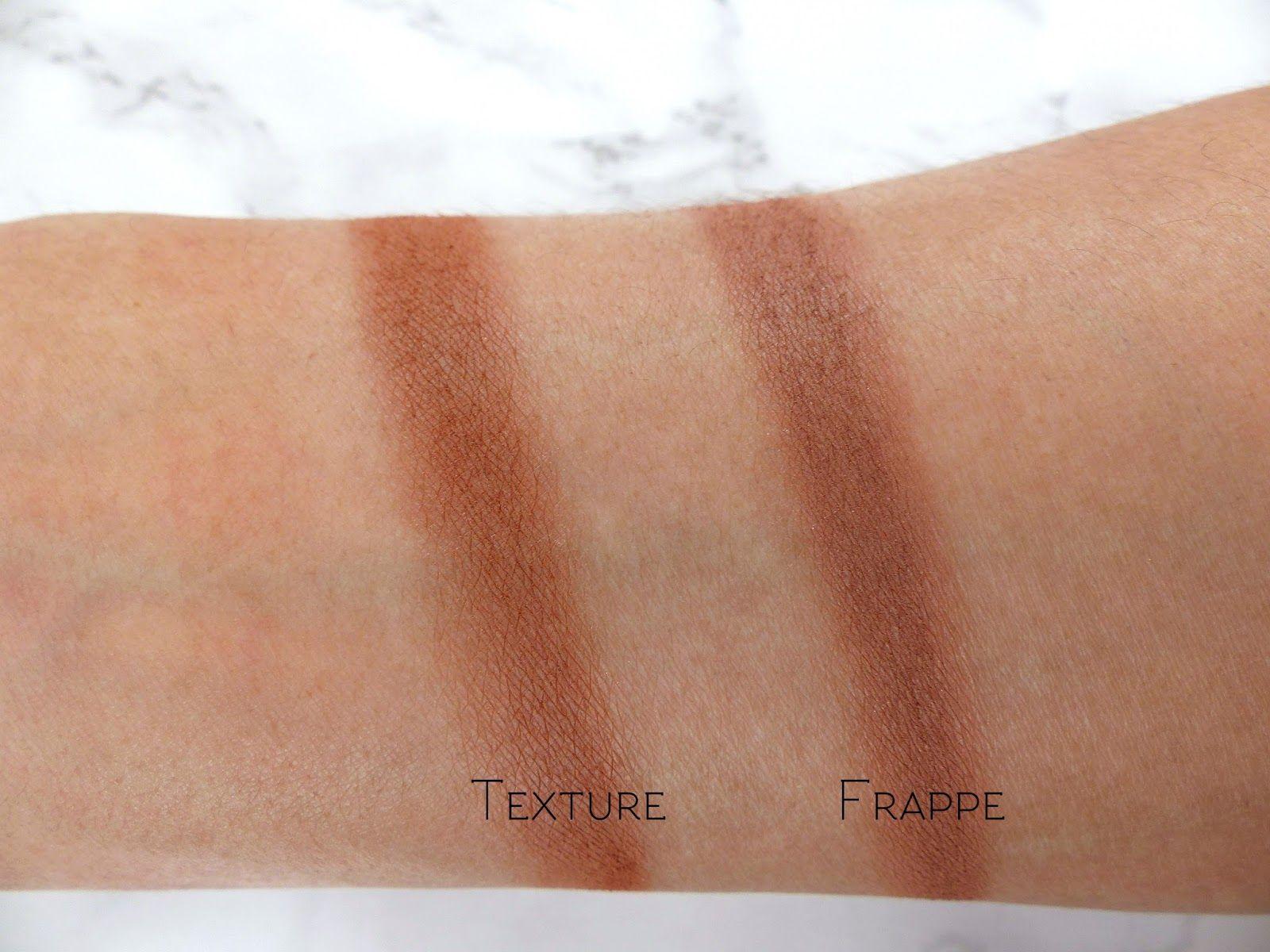 Mac Texture Eyeshadow Vs Makeup Geek Frappe