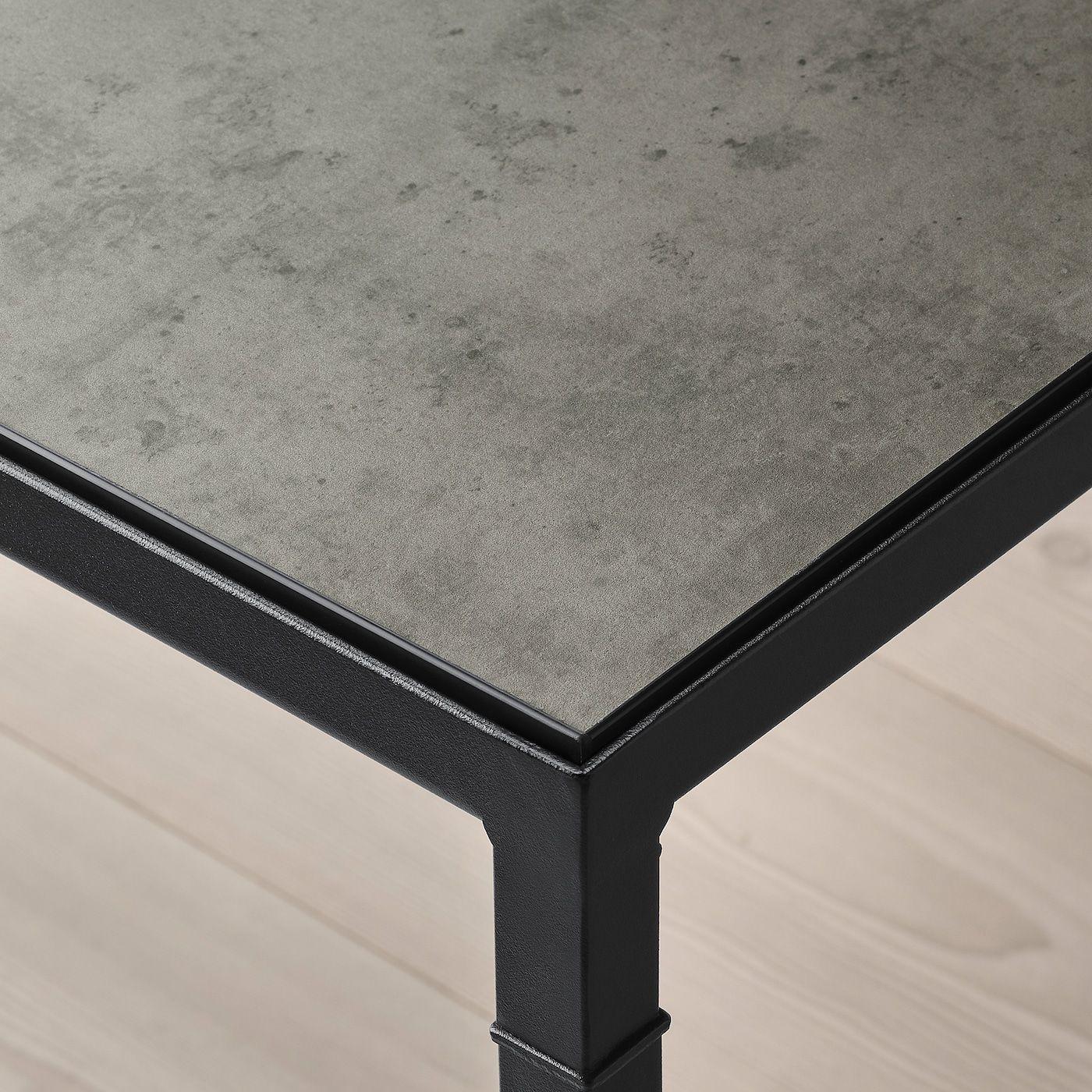 Nyboda Couchtisch Wendbare Platte Dunkelgrau Betonmuster Schwarz 75x60x50 Cm Ikea Osterreich In 2021 Black Coffee Tables Table Top Coffee Table [ 1400 x 1400 Pixel ]