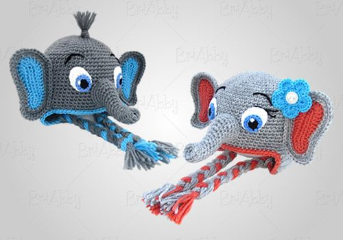 Crochet Elephant Hat Pattern Crocheting And Knitting And Seeing