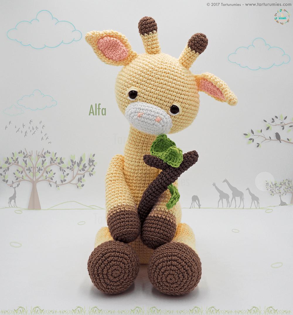 Amigurumi Pattern: Alfa Giraffe   El 15, Miembro y Él es