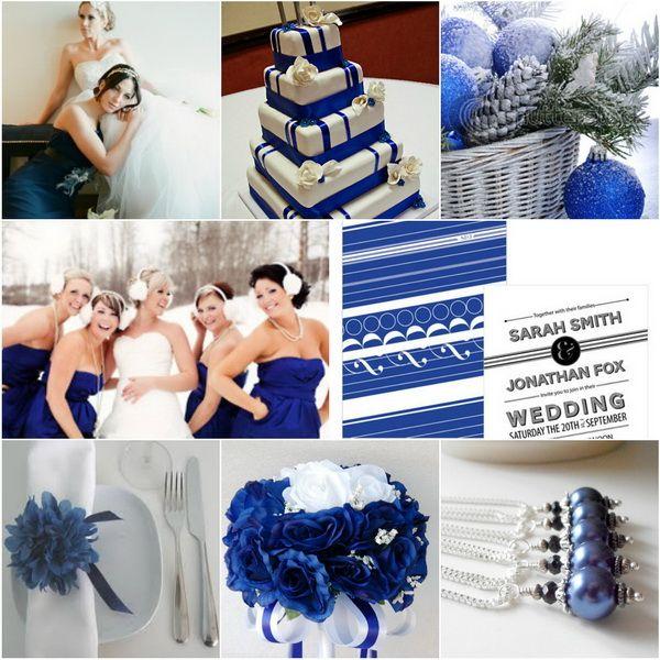 Wedding Trendsblue Wedding Color Themes For Winter 20132014