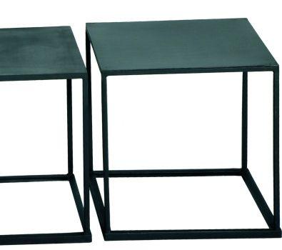 Caravane Hampi Table Empilable Table Basse Mobilier De Salon Meuble Acier