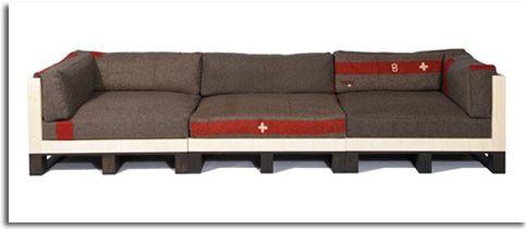 Mirad lo que se puede hacer con p g 7 decorar tu for Reciclado de palets sillones