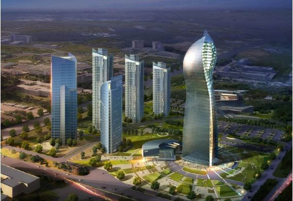 35 Storey Office Building Baku City Azerbaijan Socar New Management Office Architecture By Aidea Philippines Incorporated Predios