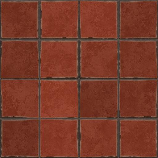 Terracotta Floor Tiles (Texture)