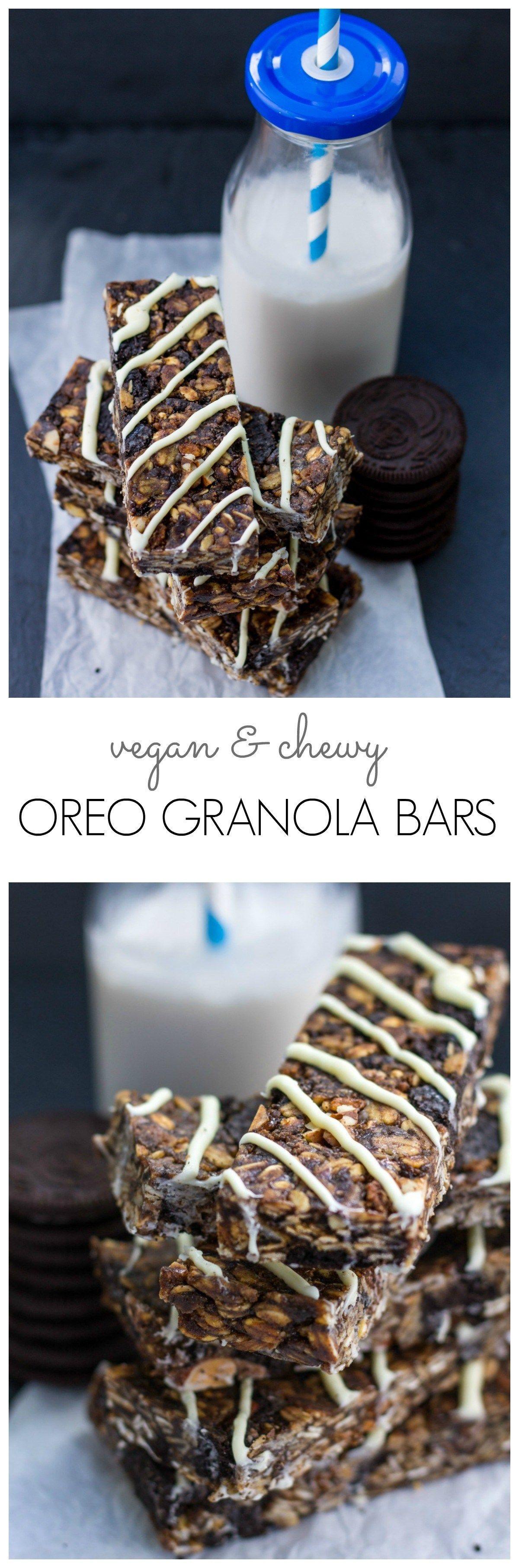 Oreo Granola Bars