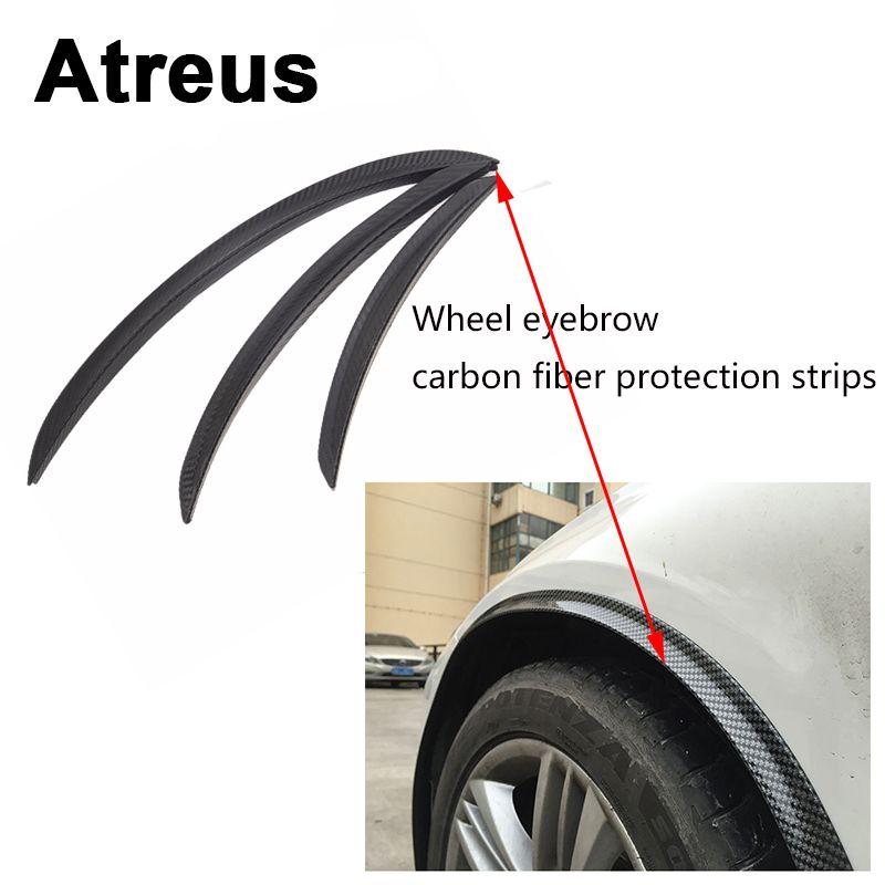 Atreus1pc Proteger Borda Do Pneu Da Roda De Carro Fender