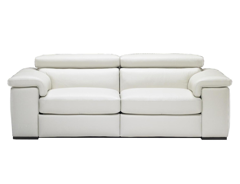 Amazing Natuzzi Editions B620 Contemporary Reclining Leather Sofa With Modern