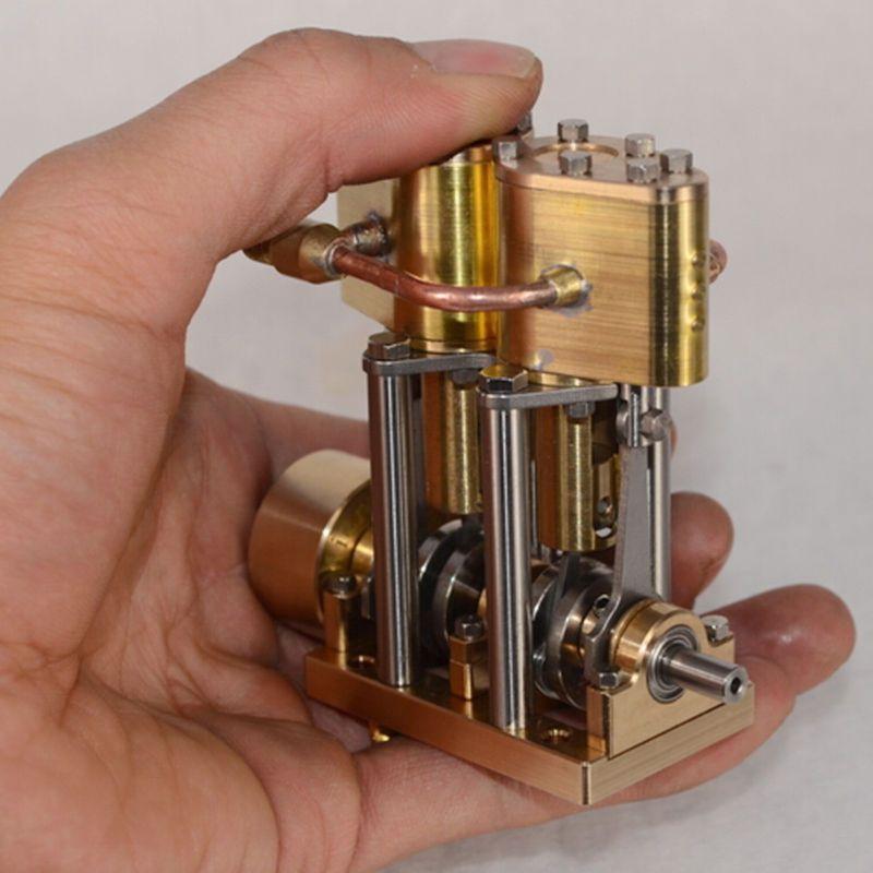 M2B Dampfmaschinen Twin Cylinder Marine Dampfmaschine Modell