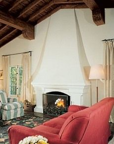 Spanish fireplace designs | or any number of Spanish Revival ...
