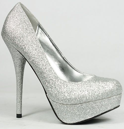 Kim Kardashian Shoes: 4 Easy Shoe-saving Tips: silver sparkly ...