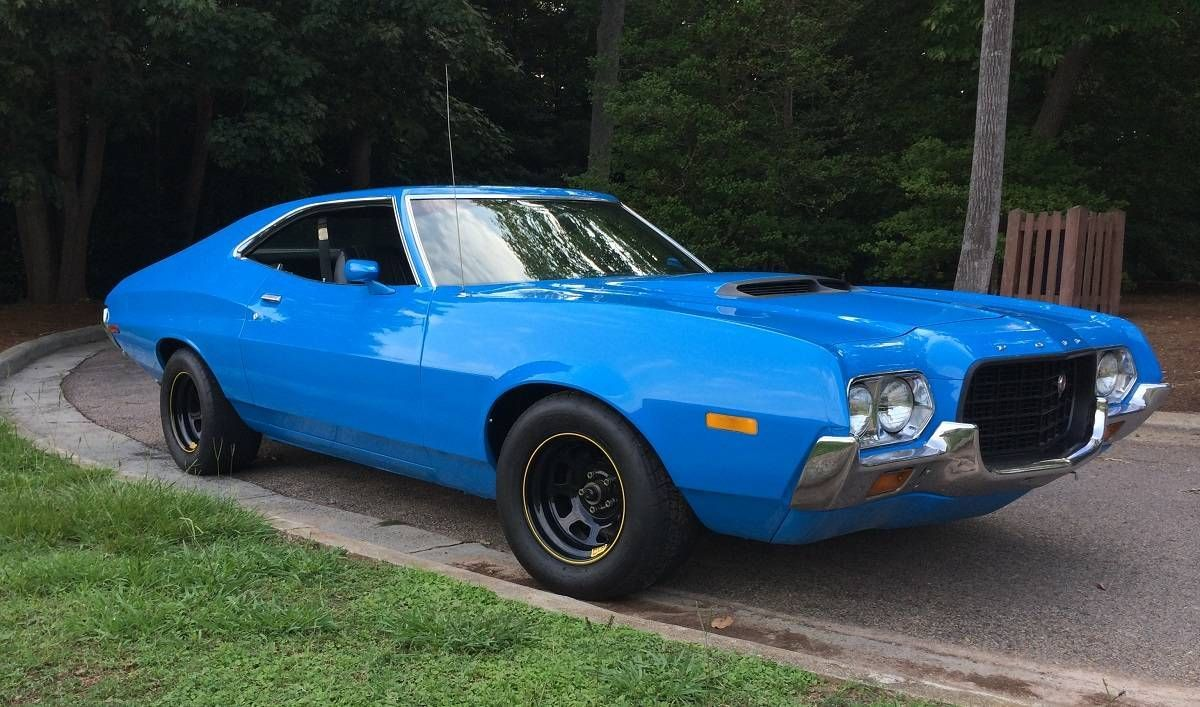 1972 Ford Gran Torino With A 521 Big Block Sweetcars Vintage