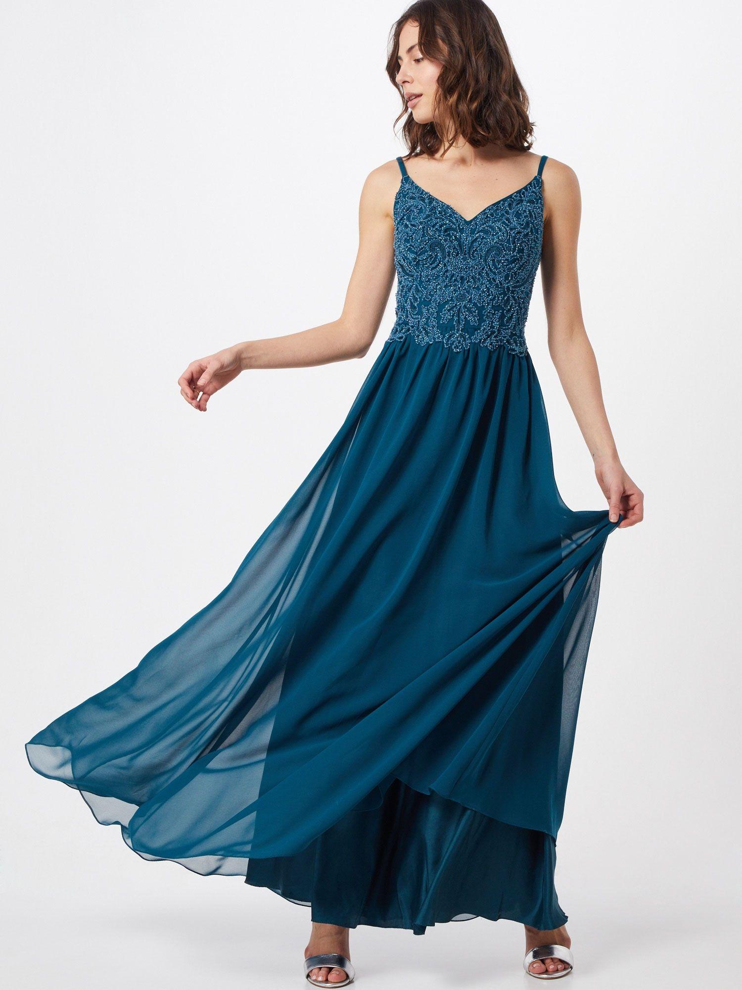 laona kleid damen, petrol, größe 42   laona kleid, kleider