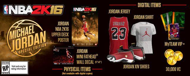 comprar nba 2k16 michael jordan edition