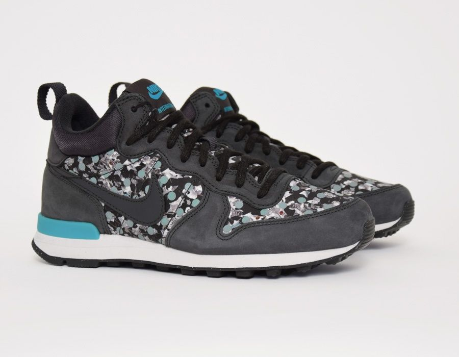 uk availability 52c50 46533  Nike Internationalist Mid WMNS Liberty Black  sneakers