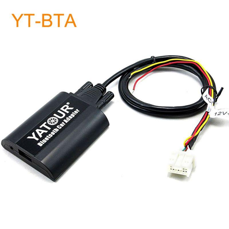 Yatour Bta Car Bluetooth Adapter Kit For Nissan Qashqai X Trail Pathfinder Navara Teana 350z Patrol Primera Alm Car Bluetooth Car Electronics Bluetooth Adapter