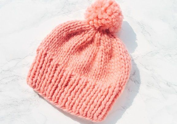 How to Knit a Hat On Straight Needles (Tutorial | Knitting ...
