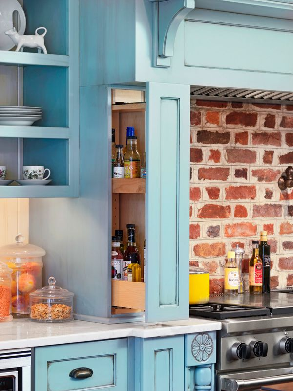 Storage Ideas for Kitchens without Upper Cabinets ...