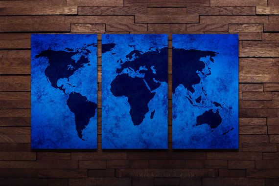 World map wall art abstract metal panels by luxwallart on etsy world map wall art abstract metal panels by luxwallart on etsy gumiabroncs Image collections