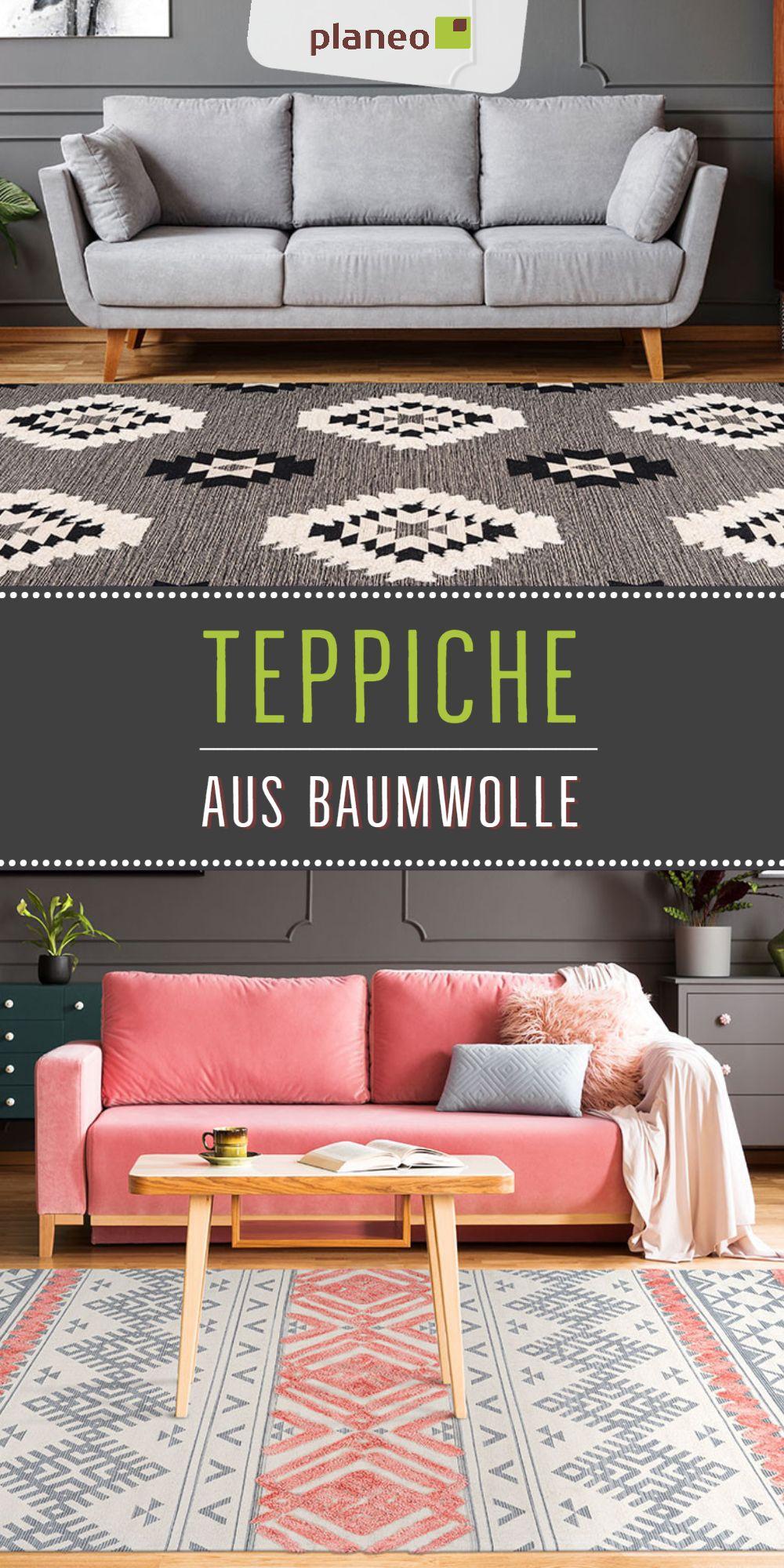 Teppiche Aus Baumwolle Fur Wohnzimmer Schlafzimmer Kinderzimmer Viele Muster Und Farben In 2020 Teppich Outdoor Sofa Teppich Online Kaufen