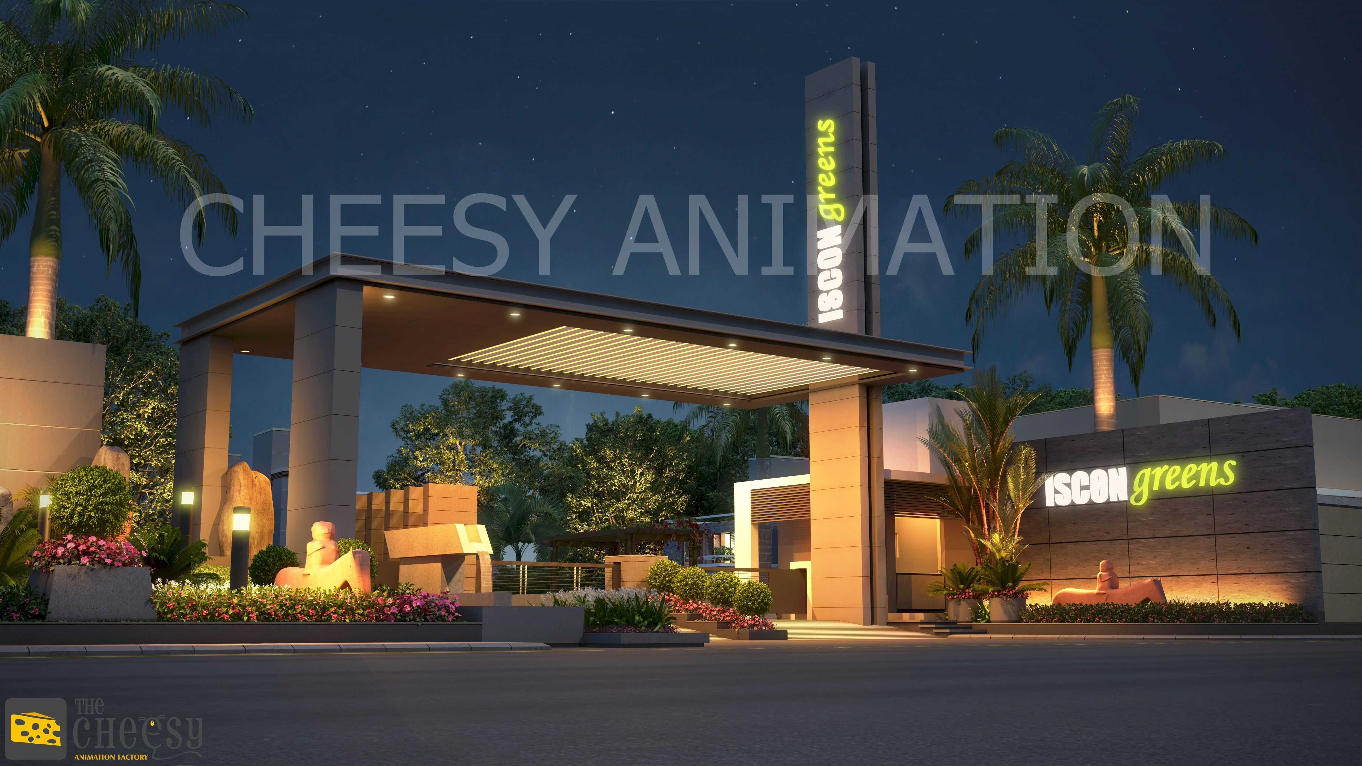 The Cheesy 3d Modeling Studio   Offering Services Like Architectural  Exterior, 3D Exterior Design,