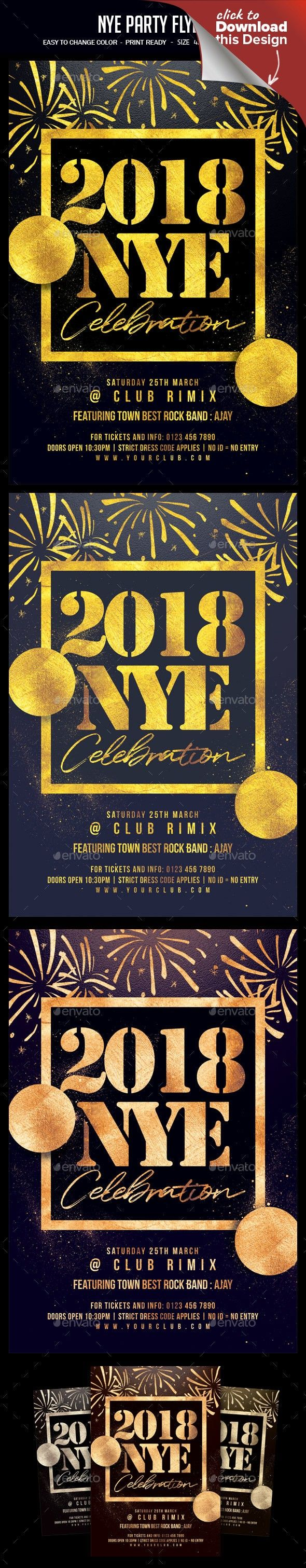 Wedding decorations beach december 2018 NYE Party Flyer  Pinterest  Nye party and Party flyer