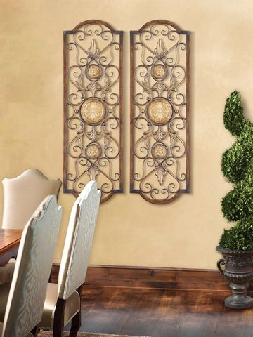Tuscan Wall Grille, Mediterranean Style Wall Art, Tuscan Wall Decor ...