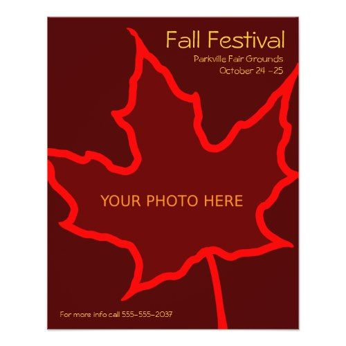 Fall Flyer Template  Flyer Template And Thanksgiving Ideas
