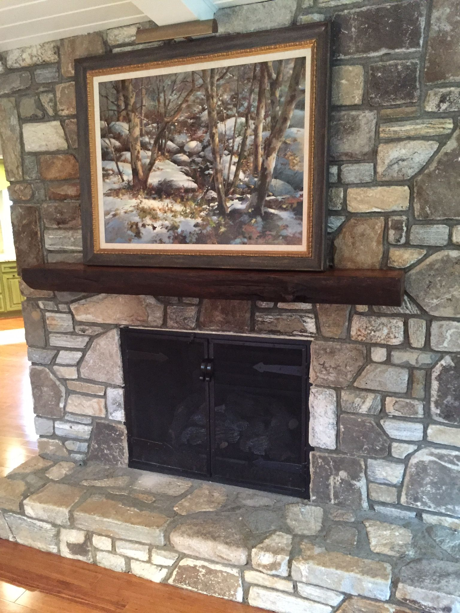 home fires burn brightest with a reclaimed mantel from the global rh co pinterest com