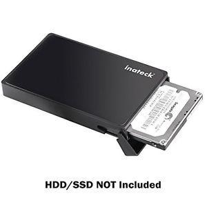 USB 3.0 to Sata HDD SSD Support UASP Inateck 2.5 External Hard Drive Enclosure