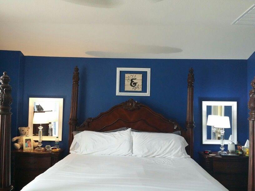 Dark Royal Blue Paint By Benjamin Moore