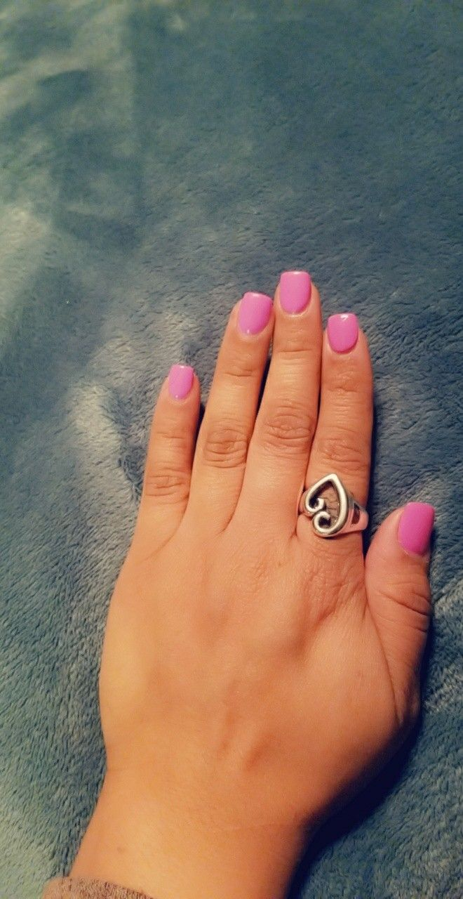Lilac gel acrylic nails. Short square. | nails for days | Pinterest ...