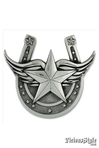 Wings Tattoo Cowboy