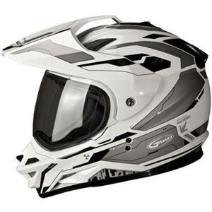GMAX GM11 Dual Sport Solid Color Helmet