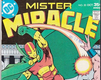 Mister Miracle 12 Dc Comic Bronze Age Jack Kirby in