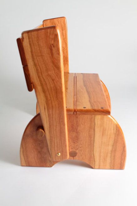 Child Chair Step Stool Of Cherry