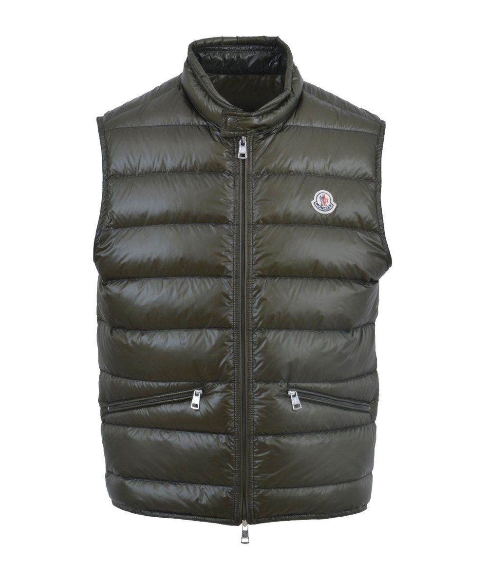 MONCLER Moncler Men'S 4336153029833 Green Polyamide Vest'. #moncler #cloth #polos