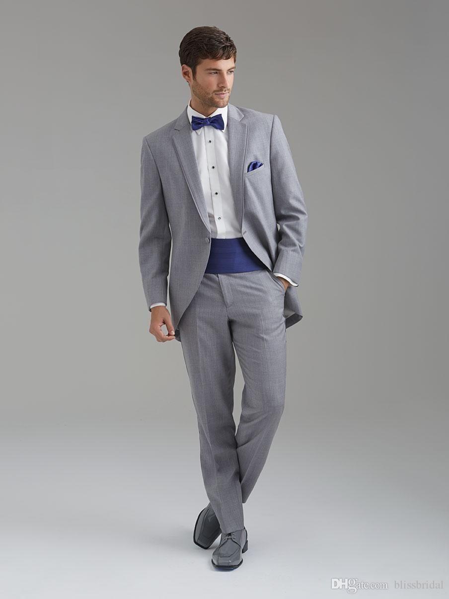 Grey Prom Tuxedos 2015_Prom Dresses_dressesss